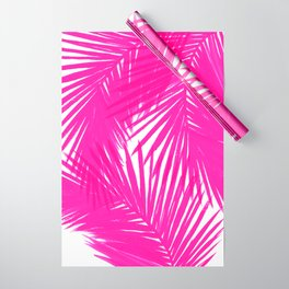 Palms Fuchsia Wrapping Paper