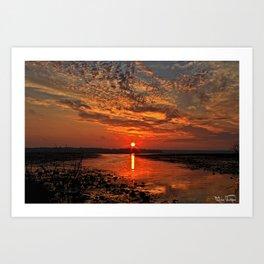 Amazing Morning.... Art Print