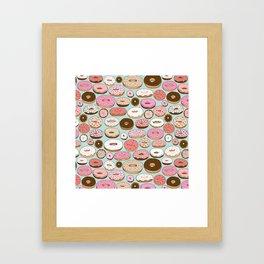 Donut Wonderland Framed Art Print