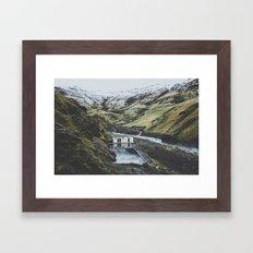 Seljavallalaug, Iceland Framed Art Print