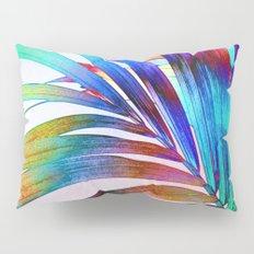 Multicolor Palm Leaf Pillow Sham