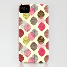Linear leaves iPhone (4, 4s) Slim Case
