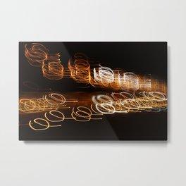 Swift and Frisky Light Metal Print