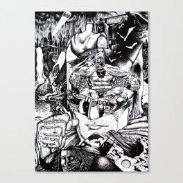 Knight & Saviour (Comic Book Fan Art) Canvas Print