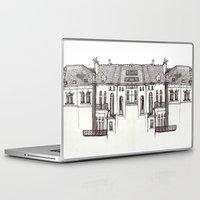 brussels Laptop & iPad Skins featuring Brussels by MadmFia