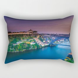 Porto Portugal sunset Rectangular Pillow