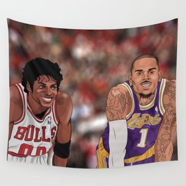 The Vet and The Rookie Wall Tapestry