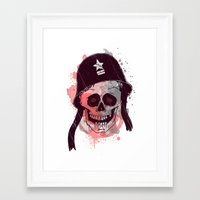 soldier Framed Art Prints featuring Soldier  by Jelot Wisang