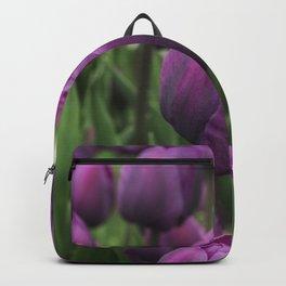 Purple Tulips Backpack