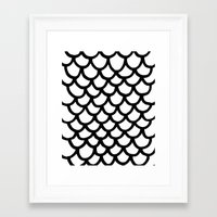 scales Framed Art Prints featuring Scales by Geryes