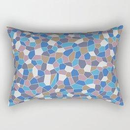Mosaic Pattern Rectangular Pillow