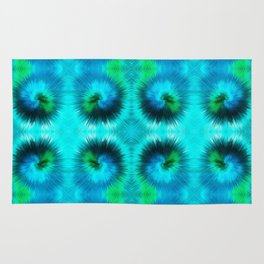 209 - Abstract spikey spheres design Rug