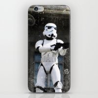 storm trooper iPhone & iPod Skins featuring Storm Trooper by BuyArt