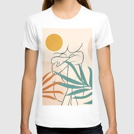 Minimal Line in Nature I T-shirt