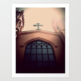 church. Art Print