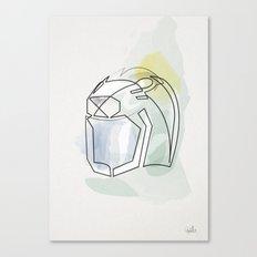 One line Ulysses 31 helmet Canvas Print
