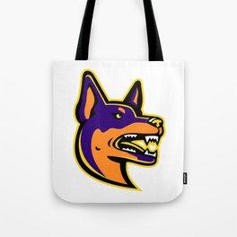 Australian Kelpie Dog Mascot Tote Bag
