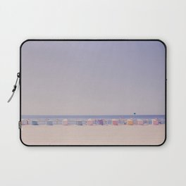Beach Huts Laptop Sleeve