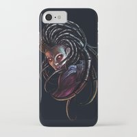 starcraft iPhone & iPod Cases featuring Queen of Blades by Denda Reloaded