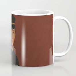 Achille De Gas in the Uniform of a Cadet Coffee Mug