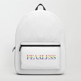 Fearless Rainbow Backpack