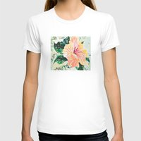 hibiscus T-shirts featuring Hibiscus by JeleataNicole