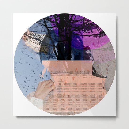 A dream for a lifetime · Marlene · Crop Circle Metal Print