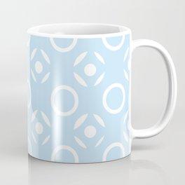 Tic Tac Toe in Blue Coffee Mug