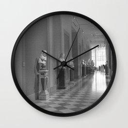 Marble Hallway Wall Clock