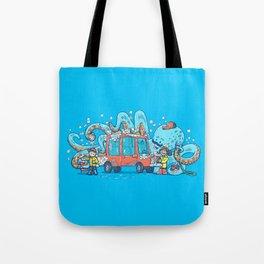 Octopus Carwash Tote Bag