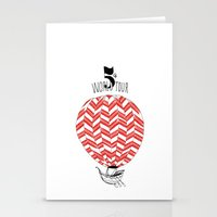 baloon Stationery Cards featuring Baloon by Pauline Midon