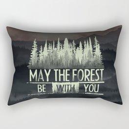 Be With You Rectangular Pillow