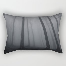 The Eerie Forest (Color) Rectangular Pillow