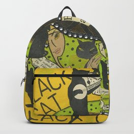 Black Cat Black Coffee Backpack