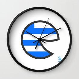 Greece Smile Wall Clock