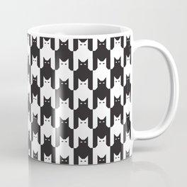 Cats Dog Tooth Pattern Coffee Mug