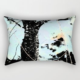 tree near the river III Rectangular Pillow
