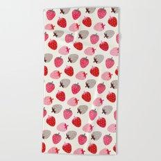 STRAWBERRY FIELDS Beach Towel