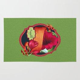 Tropical Amaryllis Rug