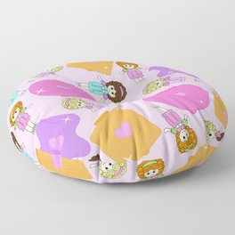Polly Pastels Floor Pillow