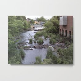 Exeter River Metal Print