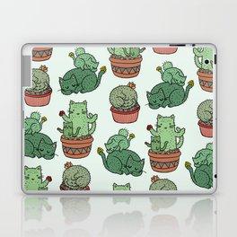 Cacti Cat pattern Laptop & iPad Skin