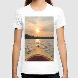 Paddle Into the Sunset T-shirt