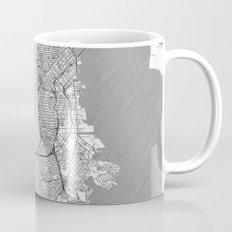 San Francisco Map Line Mug