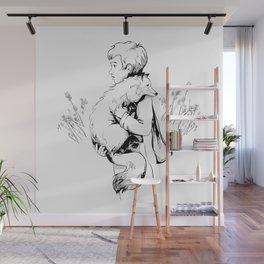 Le Petit Prince Vector Wall Mural