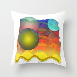 Sea Symphony Opus 101 Throw Pillow