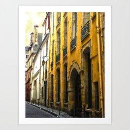 Paris Lane Art Print
