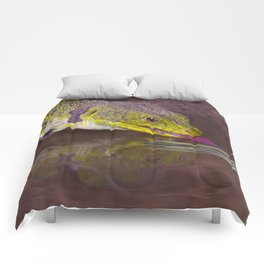 The ocellated lizard Comforters