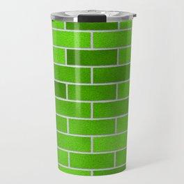 green bricks Travel Mug