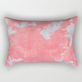 pink marble pattern Rectangular Pillow